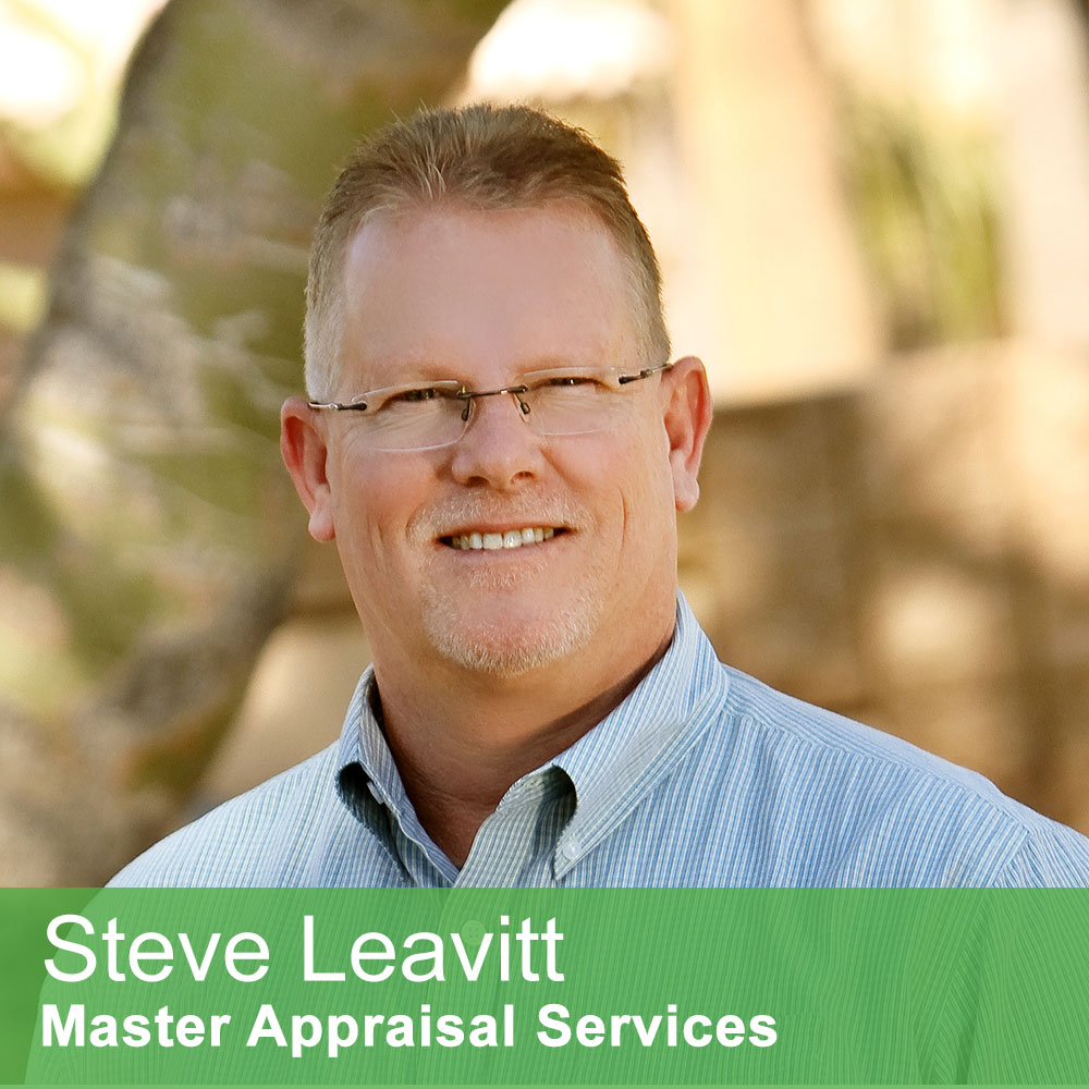 Steve Leavitt, owner Master Appraisal Services