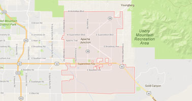 Apache Junction Appraisal Service Area