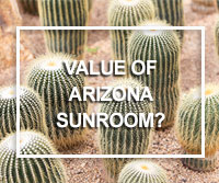 appraisal value of AZ sunroom